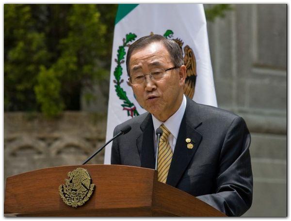 MEXICO-UN-AIDS-CALDERON-BAN KI-MOON