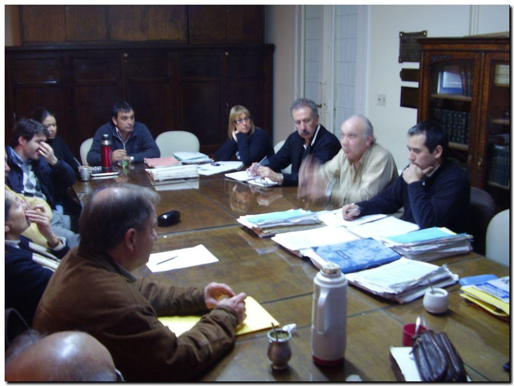 Reunión Serrano en el HCD