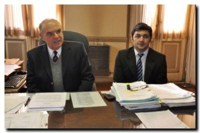 doctores Carlos De Leo y Pablo Abraham