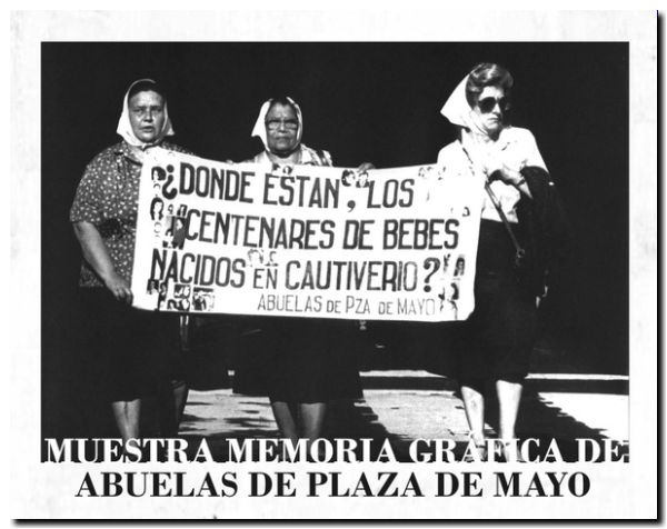 afiche muestra abuelas
